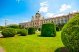 Fine Arts Museum at Maria Theresa Square in Vienna, Austria - 218376475