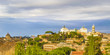 Rome Aerial View from Aventino Hill