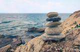 Stone balancing - 218391279