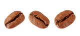 Coffee bean collection isolated on white background - 218402276