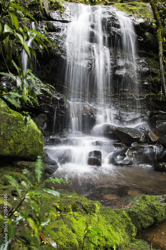 saitip waterfall Phu Soi Dao National Park thailand - 218448445