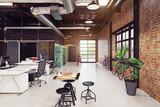 modern loft interior - 218483464