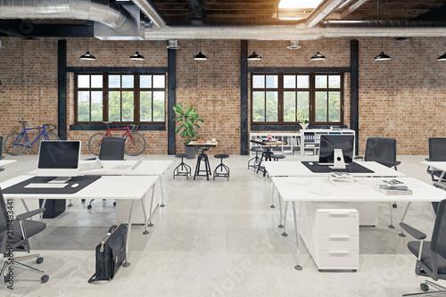 Modern Loft Office Interior