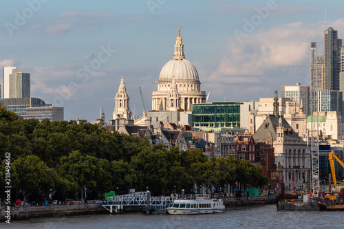 Plexiglas London London Inner City on a warm summer day