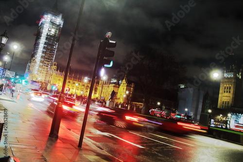 Plexiglas London Londres agitée