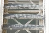 Treppenstufen, Außentreppe aus Stahl