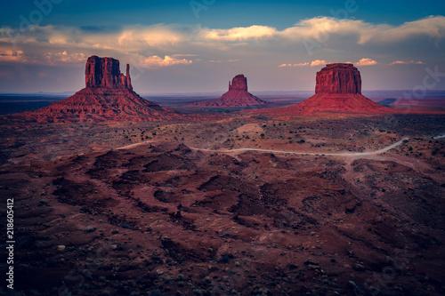 Aluminium Arizona Sunset, Monument Valley