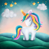 Little cute unicorn - 218605691