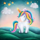 Little cute unicorn - 218605691