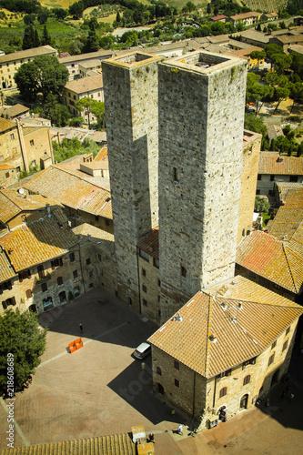 Fototapeta San Gimignano 09