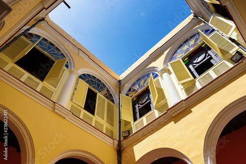 Beautiful colonial architecture in Havana city, Cuba.
