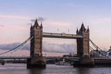 Scenic View Of Tower Bridge, London - 218650496