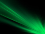 Green Sun Rays Background - 218671239