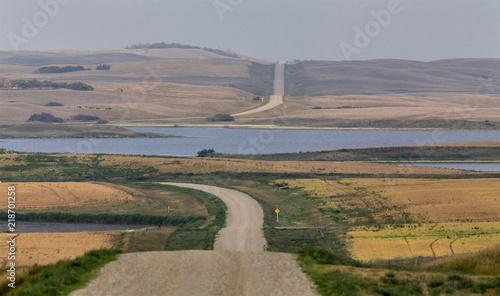 Canvas Zomer Summer Prairie Scene