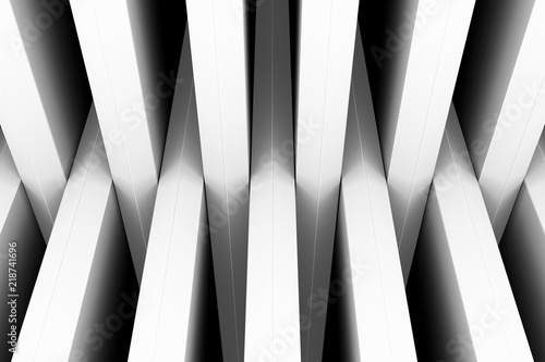 black and white crosshair abstract background top 3d illustration - 218741696