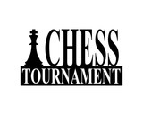 Chess Tournament Silhouette Sign
