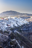 Scenic view of Thira, on the island of Santorini. - 218768458