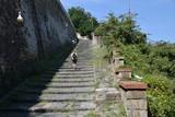 Fototapeta Na drzwi - Pedamentina, napoli; stairs of Naples © Giuseppe