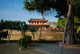 Grand south gate of old Tainan city fortification in Taiwan - 218773035