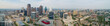 Aerial panorama Dallas Texas no logos