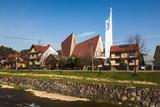 Church in Kroscienko on the Dunajec village, Pieniny, Poland