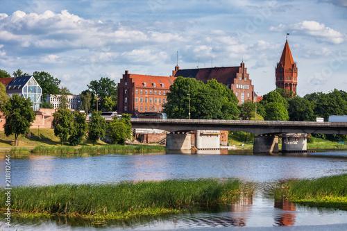 mata magnetyczna Malbork Town in Poland