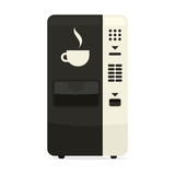 Coffee Vending Machine simple icon