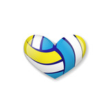 Love volleyball object