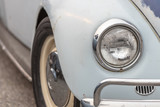 The Front End of an Old Classic Car