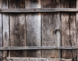 Old weathered wood wall texture - 218903035