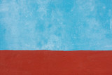 Blue and red cement wall texture - 218903036