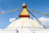 Boudhanath stupa in Kathmandu, Nepal - 218910412