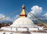 Boudhanath stupa in Kathmandu, Nepal - 218910434