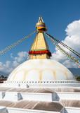 Boudhanath stupa in Kathmandu, Nepal - 218910442