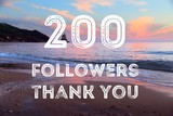 200 followers