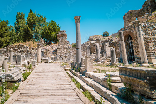 Ephesus Turkey old ruins of Ephesus