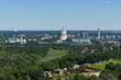 Aussicht vom Glockenturm des Olympiastadions