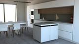 Cucina mobili, design di interni, arredamento della cucina. Arredamento ed elettrodomestici per la cucina - 218961284