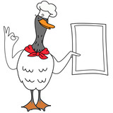 Cartoon duck character - 218961665