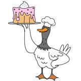 Cartoon duck character - 218962067