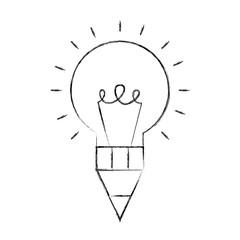 bulb idea pen creativity design artistic