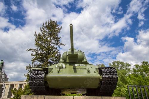 Soviet War Memorial in Tiergarten in central Berlin, Germany © robertdering