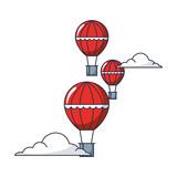 balloons air hot flying - 218971878