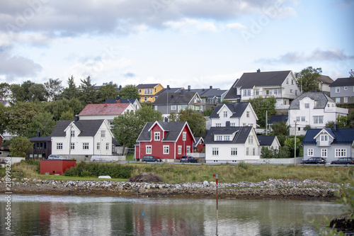 Smal house bye the seashore