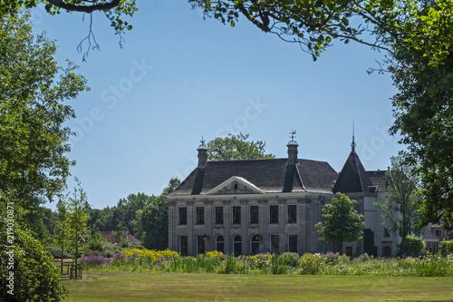 Leinwanddruck Bild Haus Singraven, Denekamp