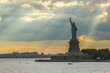 The symbol of New york, the Liberty statue