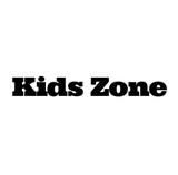 kids zone stamp on white