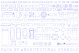 Pack of Architectural Symbols - 219102426
