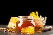 Honey jar and dipper - 219111086