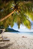 Plage de Beau Vallon, Seychelles © Prod. Numérik